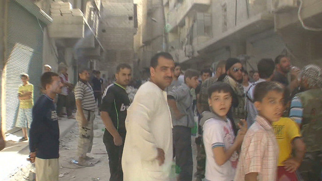 Violence part of daily life in Aleppo