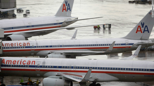 American Airlines seats come loose again