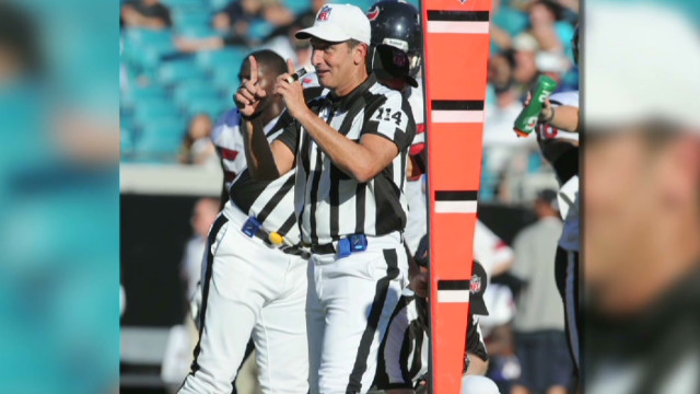 Replacement refs a risk for NFL players?