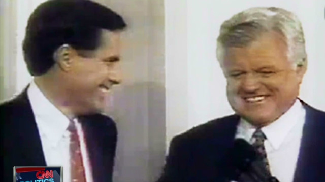 1994: Watch Romney, Kennedy debate