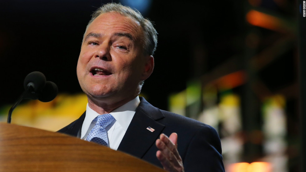 Kaine struggles to answer for hacked Clinton emails