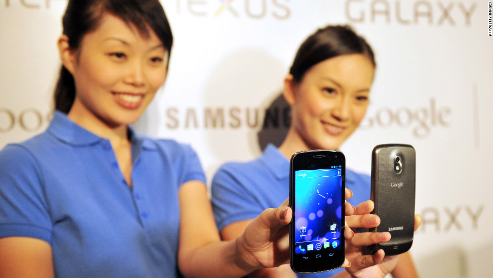 "From Samsung and Google, the Galaxy Nexus soon will run the latest version of the Android operating system. Face-recognition tech lets you ""unlock your phone with a smile."""