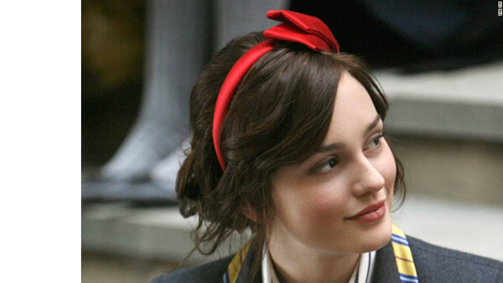 "Blair Waldorf, played by actress Leighton Meester, put headbands on the map when ""Gossip Girl"" premiered in 2007. Costume designer Eric Daman said he has steered clear of the hair accessory of late, but it'll be back for season 6. ""I feel like the headband was such a thing for (Blair) when she was in high school,"" he said. ""We wanted to segue out of it for a little bit. ... It was really kind of an evolution of who she was as a woman. There's a moment when she went to NYU and she took her headband off, and she's like, 'I can't wear these anymore. They're really keeping me down.' """