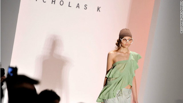Will the sexy cutouts and sheer overlays seen in this Nicholas K runway show make it into your closet?