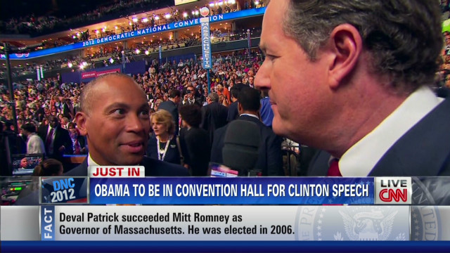 Deval Patrick on the RNC plan and 'God'