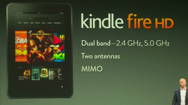 Amazon debuts upgraded Kindle Fire