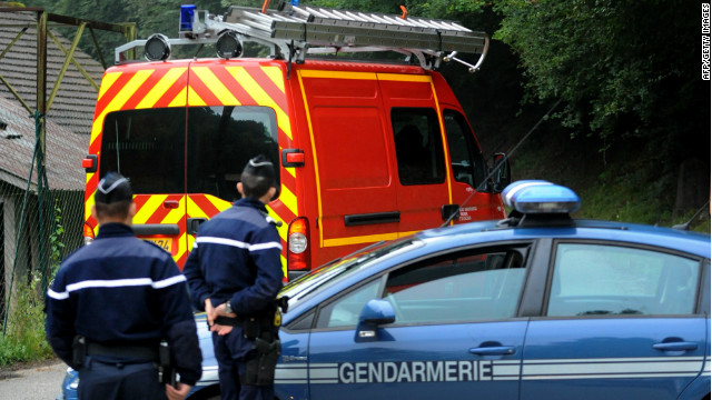 Girl found alive among bodies in France