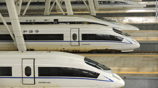 China approved $158 billion in new infrastructure spending, including railroad projects.