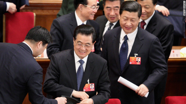Incumbent Hu Jintao (left) is likely to be succeeded as president by Xi Jinping (pictured right).
