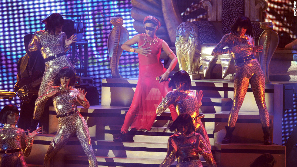 Rihanna performs during the 2012 MTV Video Music Awards at the Staples Center on Thursday, September 6, in Los Angeles. Click through the gallery to see the highlights of the night.