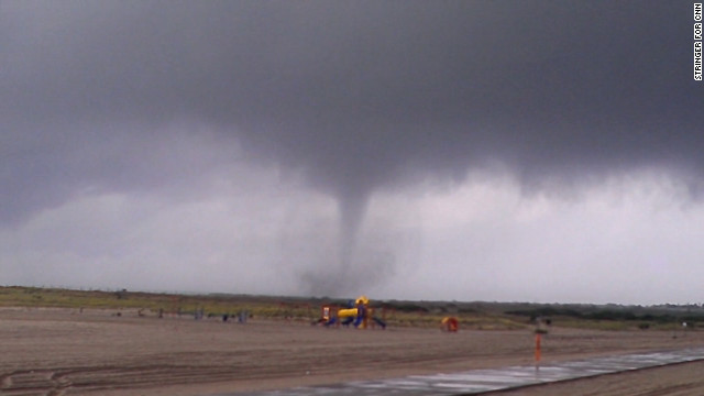 Waterspout turns into tornado