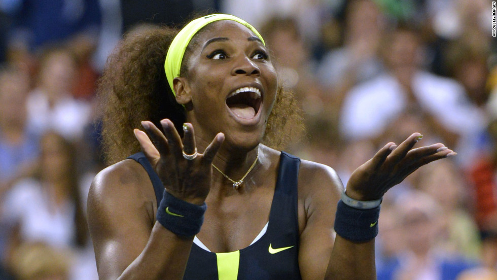 "Serena Williams of the United States celebrates defeating Victoria Azarenka of Belarus 6-2, 2-6, 7-5 in the 2012 U.S. Open women's singles final on Sunday, September 9, in New York. <a href=""http://www.cnn.com/2012/08/28/worldsport/gallery/us-open-tennis/index.html"">See more U.S. Open action here</a>."