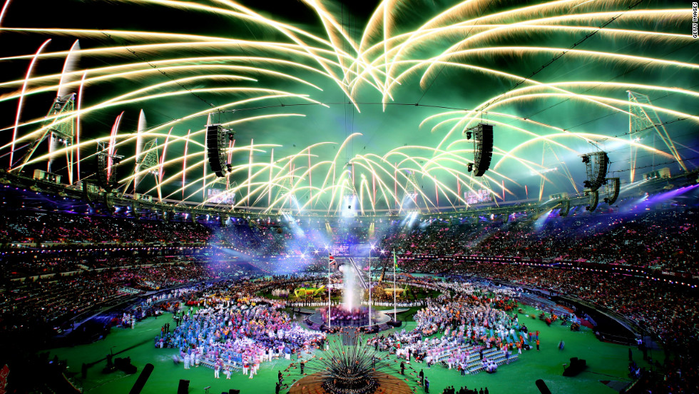 "Fireworks light up the stadium during the closing ceremony of the London 2012 Paralympic Games at Olympic Stadium on Sunday, September 9. <a href=""http://www.cnn.com/2012/08/28/world/gallery/paralympics-best/index.html"">Check out the best photos of the Paralympic Games here</a>."