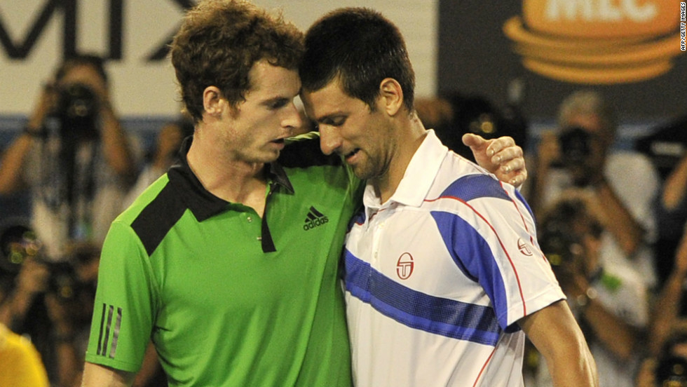 Murray must have fancied his chances against Djokovic in 2011's Australian Open -- It was his third grand slam final and Federer wasn't his opponent. But his longtime friend provided equally stern opposition, thrashing the Scot 6-4 6-2 6-3.