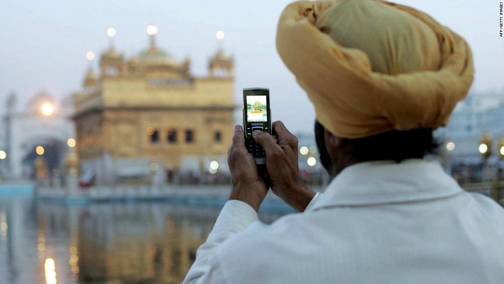 Of the 920m Indians subscribing to a cell phone, as of June 2012, 6.8 per cent or 63 million of them claim to access the Internet from their cell phones.