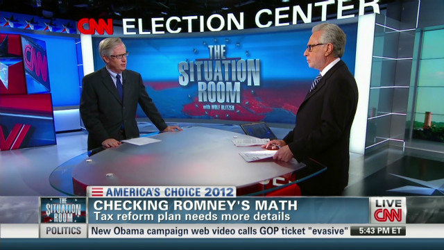 Fact checking Romney's arithmetic