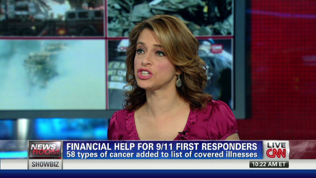 58 cancers receive 9/11 fund coverage