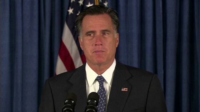 Romney: Attack on consulate disgusting