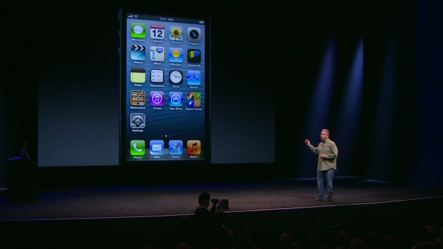 Apple unveils smaller, faster iPhone 5