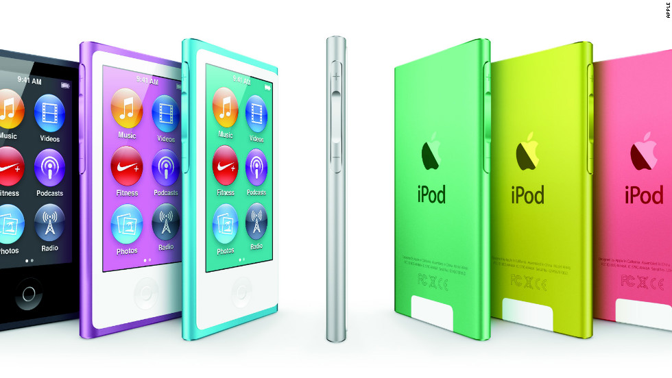 Apple's newest iPod nano features a 2.5-inch screen, comes in a variety of colors and is the thinnest iPod ever. The original came out in late 2005 and replaced the iPod Mini.
