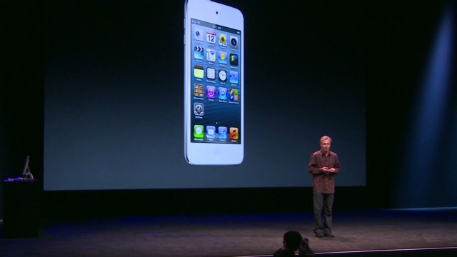 Apple's redesigned iPod touch, iPod nano