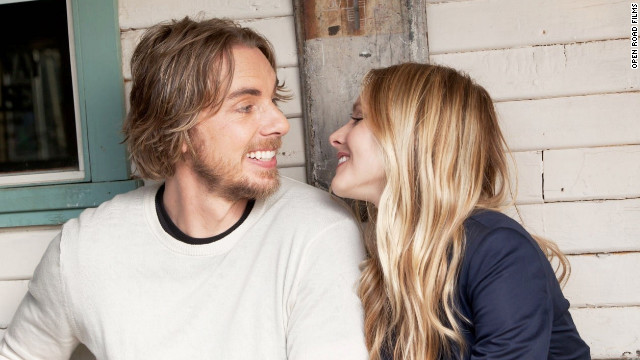 "Kristen Bell and Dax Shepard appeared together in 2010's ""When in Rome"" and 2012's ""Hit and Run,"" which Shepard also wrote and co-directed. The pair got engaged in 2010, but said they won't get married until their gay friends are able to, as well. ""We're not going to ask them to come celebrate a right they don't have,"" Shepard told CNN in August 2012. ""That's just tacky!"""