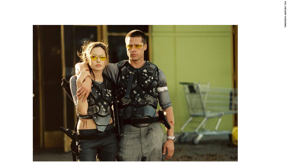 "Love blossomed on the set of ""Mr. and Mrs. Smith"" for Brad Pitt and Angelina Jolie; unfortunately, Pitt was still married to Jennifer Aniston at the time. They divorced in October 2005, about four months after the film hit theaters, and Pitt and Jolie have been together - <a href=""http://www.cnn.com/2012/04/13/showbiz/pitt-jolie-engaged/"">and then some</a> - ever since. The couple will now reunite on screen for the first time in nine years for ""By the Sea,"" a drama that Jolie wrote and will direct."