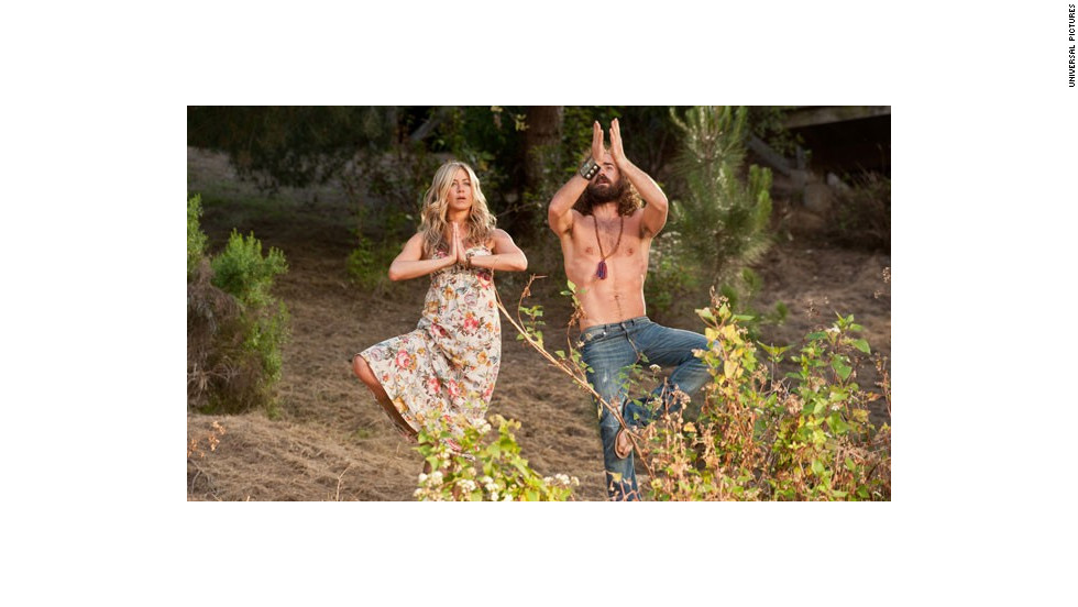 """Wanderlust"" co-stars Jennifer Aniston and Justin Theroux went public with their relationship in 2011, and announced their <a href=""http://www.cnn.com/2012/08/12/showbiz/aniston-engaged/index.html"" target=""_blank"">engagement </a>the next year."