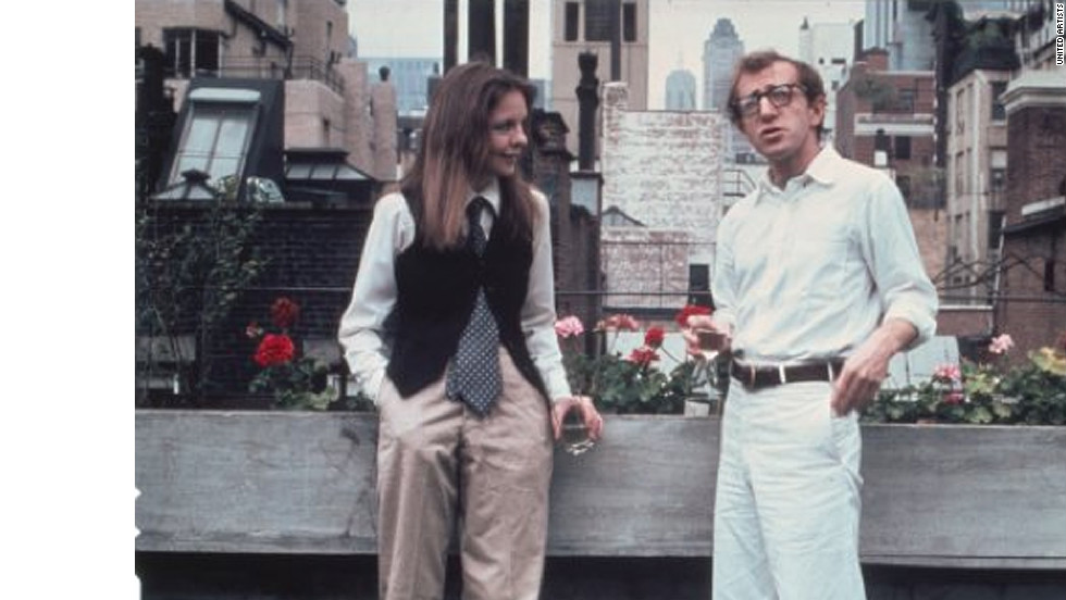 "Diane Keaton and Woody Allen dated briefly before solidifying their professional relationship with 1972's ""Play It Again, Sam."" The pair produced eight films together over two decades. The 1977 romantic comedy ""Annie Hall"" took home four Academy Awards."