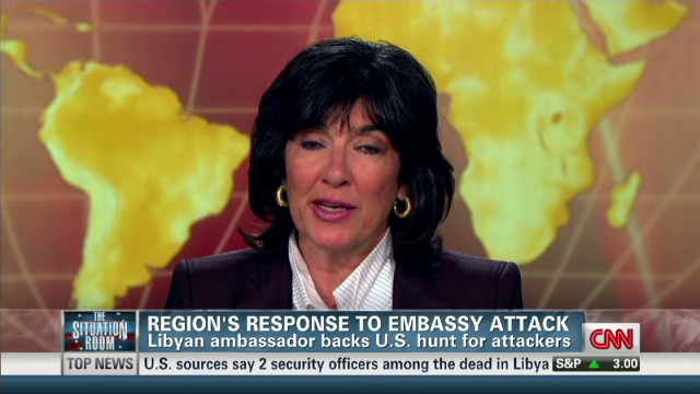 Christiane Amanpour discusses Libya