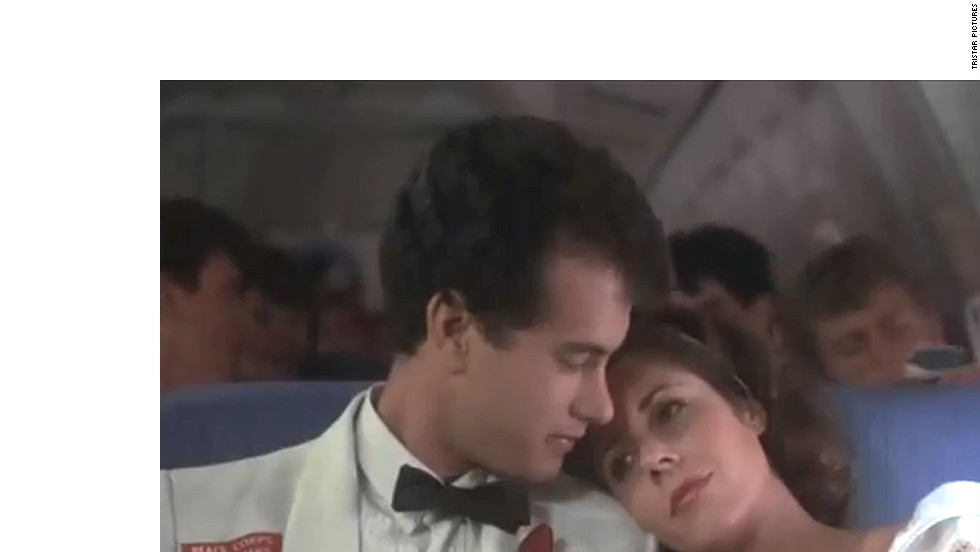 "After more than 20 years of marriage, Tom Hanks and Rita Wilson are still going strong. The pair, who appeared together in 1985's ""Volunteers,"" <a href=""http://www.usmagazine.com/celebrity-news/news/awww-tom-hanks-rita-wilson-caught-on-kiss-cam-201253"" target=""_blank"">smooched for the Kiss Cam</a> at a Los Angeles Kings game in 2012."