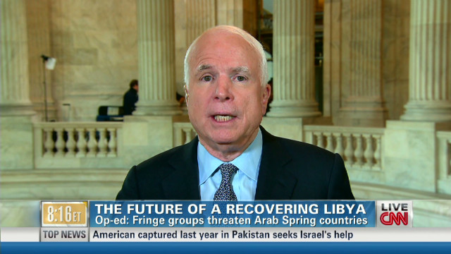 McCain: Libya needs our assistance