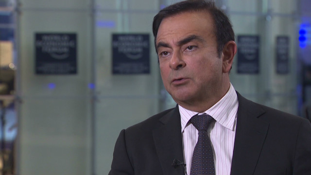 Ghosn: Europe has time, now needs growth