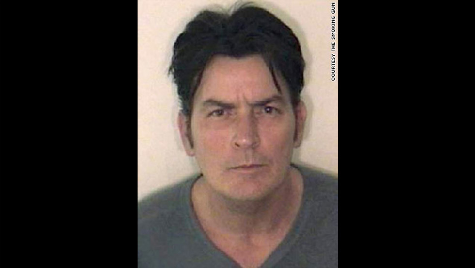 Bad boy actor Charlie Sheen is no stranger to Hollywood scandal. He posed for this mug shot after a 2009 arrest related to a domestic violence dispute.