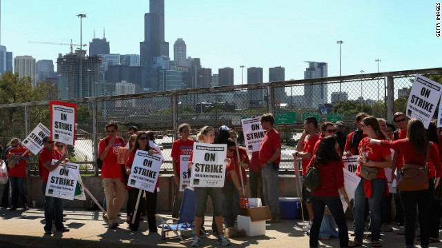 Chicago teachers reach tentative deal