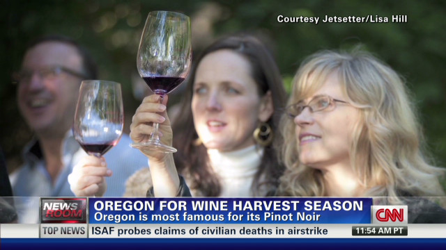 Start of fall brings vineyard harvests