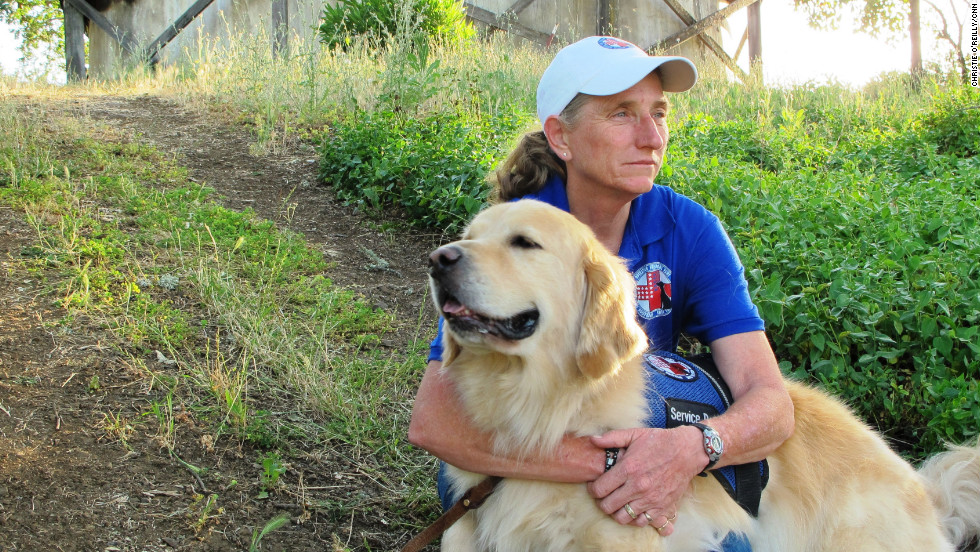 "Mary Cortani is a former Army dog trainer who started Operation Freedom Paws, a nonprofit that helps war veterans <a href=""http://www.cnn.com/2012/06/07/us/cnnheroes-cortani-veterans-dogs/index.html"">train their own service dogs</a>. Since 2010, she has worked with more than 80 veterans who have invisible wounds such as post-traumatic stress disorder. ""I'm hoping this brings awareness to the world that PTSD is real and that we will be able to reach more veterans who so desperately need help,"" Cortani said. <a href=""http://www.cnn.com/2012/11/26/us/gallery/heroes-cortani/index.html"" target=""_blank"">See more photos of Mary Cortani</a>"