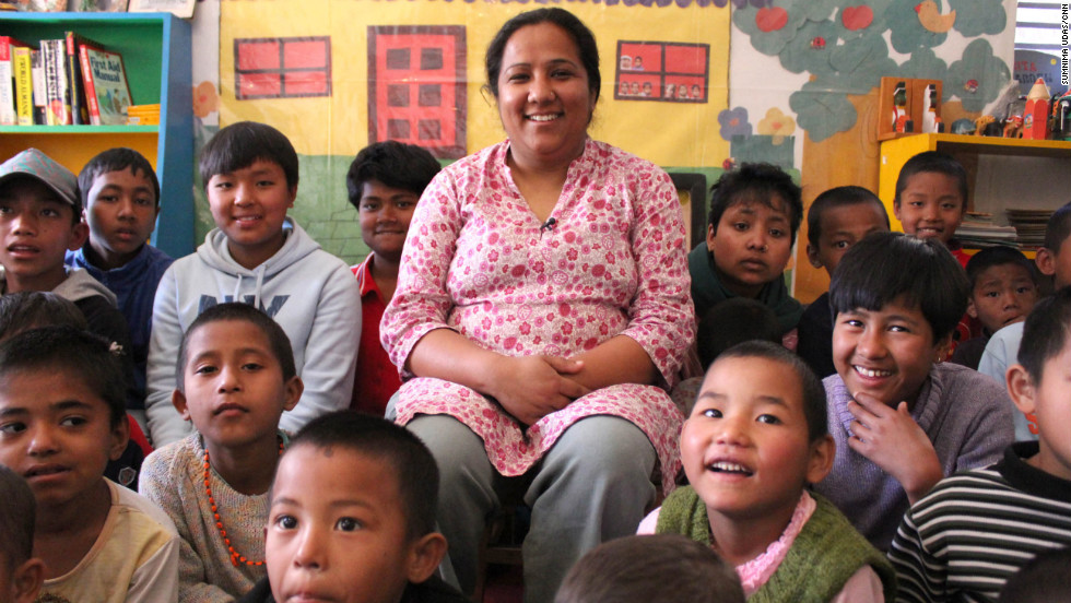 "Pushpa Basnet was shocked to learn that children in Nepal were <a href=""http://www.cnn.com/2012/03/15/world/cnnheroes-basnet-nepal-prisons/index.html"">living in prisons with their parents</a>. In 2005, she started a children's center that has provided housing, education and medical care to more than 140 children of incarcerated parents. ""I always had a dream to build our own home for these children, and I want to rescue more children who are still in prisons,"" Basnet said. <a href=""http://www.cnn.com/2012/11/26/world/cnnheroes-prison-children/index.html"" target=""_blank"">See more photos of Pushpa Basnet</a>, who was voted <a href=""http://www.cnn.com/2012/12/02/world/cnnheroes-show/index.html"">CNN Hero of the Year</a> for 2012."