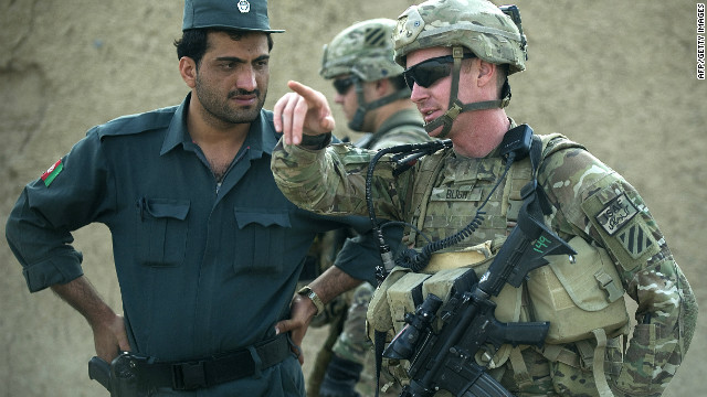 "So-called ""green-on-blue"" attacks have damaged trust between coalition and Afghan forces."