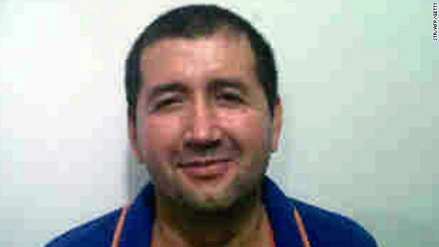 Handout picture released by Colombian Police on September 18, 2012, showing Colombian drug lord Daniel Barrera Barrera, a.k.a. 'El Loco Barrera'. Barrera was captured in San Cristobal, Venezuela, reported Tuesday Colombian President Juan Manuel Santos, who revealed that his arrest was achieved with support from the CIA. AFP PHOTO/Colombian Police (Photo credit should read STR/AFP/GettyImages)