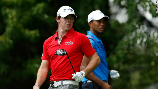 Rory McIlroy and Tiger Woods will fight it out at the PGA Tour Championship in Atlanta with both men desperate for victory.