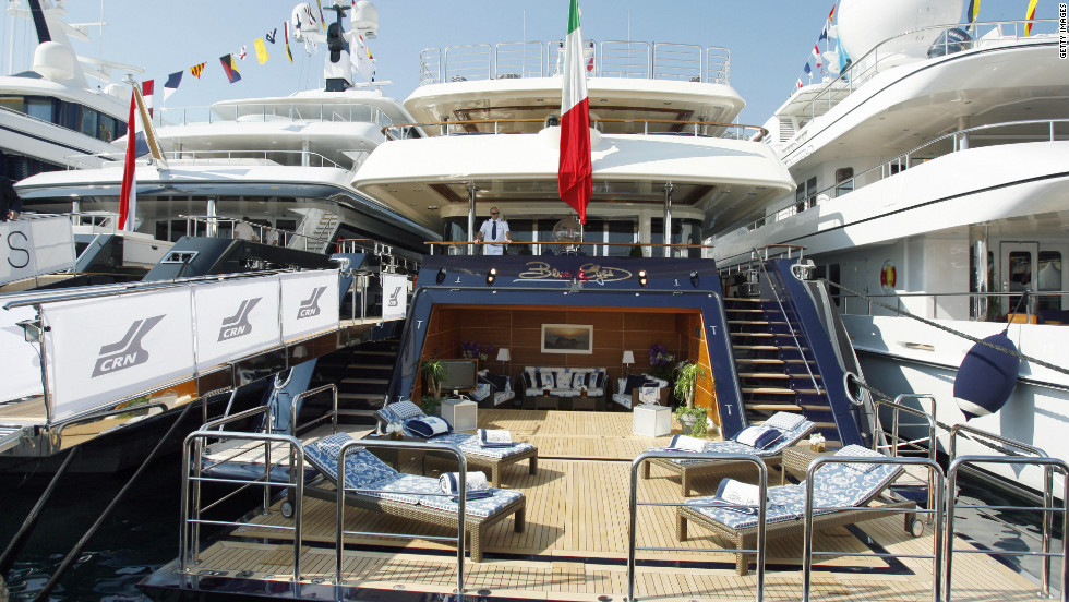 On the other hand, John Christensen of the Tax Justice Network argues superyachts are vulgar displays of wealth in times of austerity.
