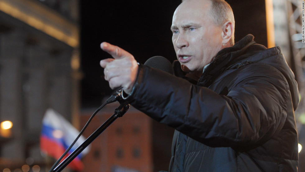"Vladimir Putin won back the presidency of <strong>Russia</strong>, picking up where he left off in 2008, when he stepped down because of a two-term limit. International observers and opposition leaders <a href=""http://www.cnn.com/2012/03/05/world/europe/russia-post-election-q-and-a/index.html"">blasted the election</a>, however, alleging fraud and saying the outcome was never in doubt."