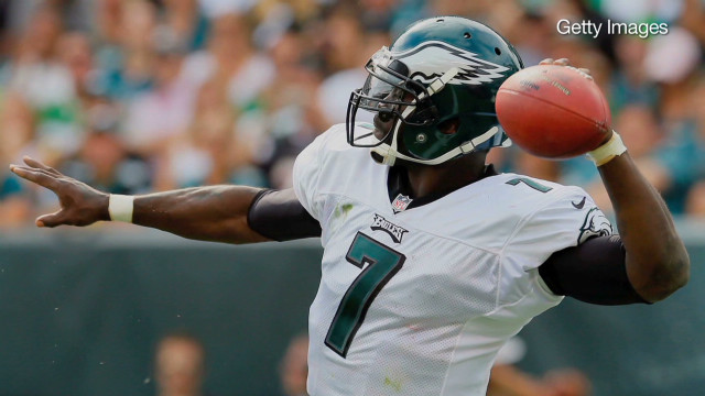Michael Vick's second chance