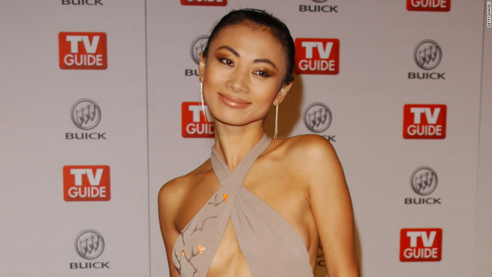 Bai Ling left little to the imagination in this barely there number she wore to a TV Guide Emmy party in 2003.