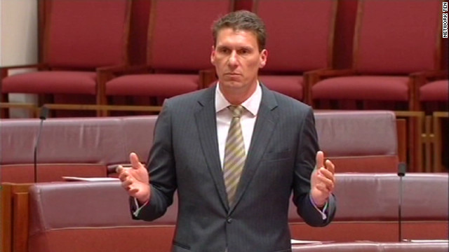 Senator ousted over gay marriage remarks