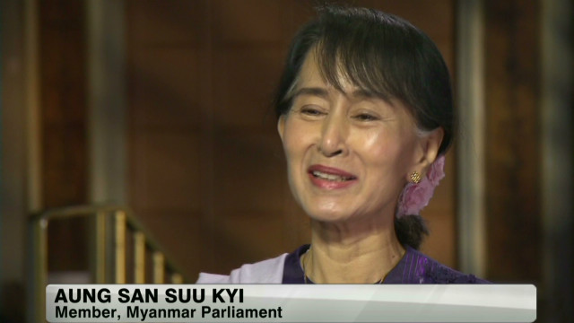 Aung San Suu Kyi embarrassed by accolade