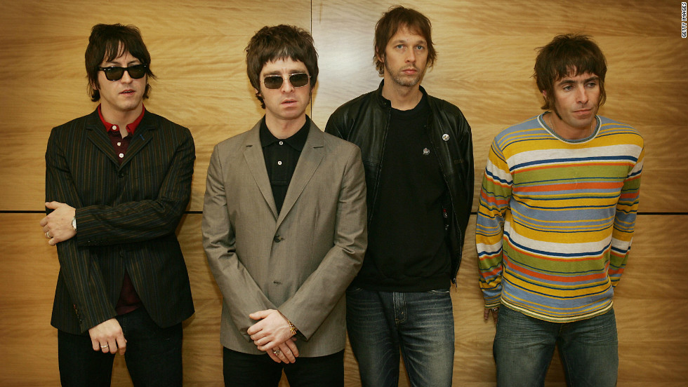 The rivalry between Manchester and Liverpool also spills over into areas of popular culture. Indie band Oasis are arguably Manchester's most famous musical export. Brothers Liam and Noel Gallagher are, however, Manchester City fans.