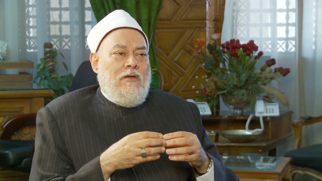 Egypt Mufti on Anti-Film Violence_00001323