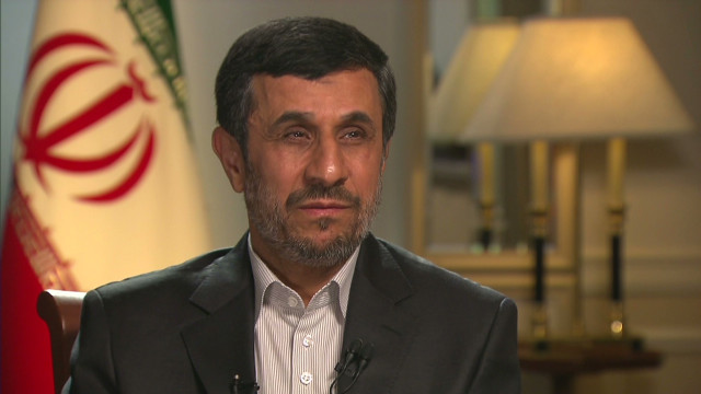Mahmoud Ahmadinejad on Libya, Stevens